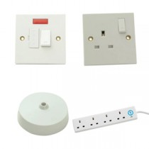 Electrical Fixings - Sockets Switches Junction Boxes