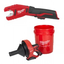 Cordless Pipe Cutters & Drain Augers