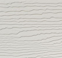 DEEPLAS EMBOSSED CLADDING - TOP EDGE TRIM - LIGHT IVORY