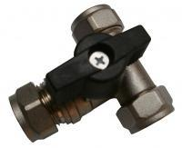 15MM T BAR BUTTERFLY ISOLATION VALVE (WRAS)