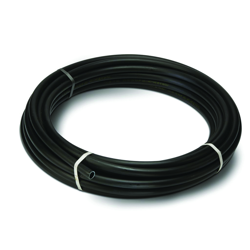 POLYPIPE 20MM BLACK MDPE PIPE 25M COIL