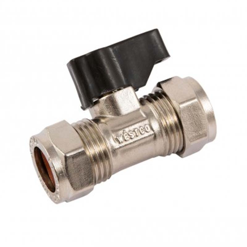 15MM LEVER ISOLATION VALVE - CP