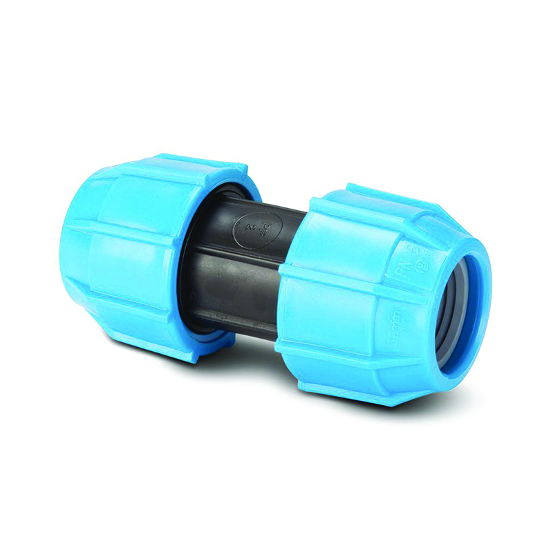 POLYPIPE 20MM STRAIGHT COUPLER POLYFAST MDPE