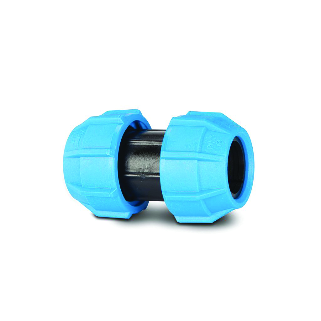 POLYPIPE 20MM SLIP / REPAIR COUPLER POLYFAST MDPE