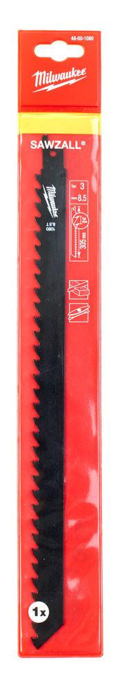 MILWAUKEE SAWZALL BLADE - 305MM BRICK & BLOCK - 1PC - 48001080