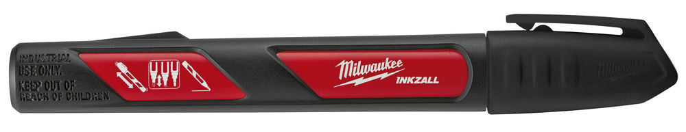 MILWAUKEE INKZALL LIQUID PAINT MARKER PEN BLACK - 48223731