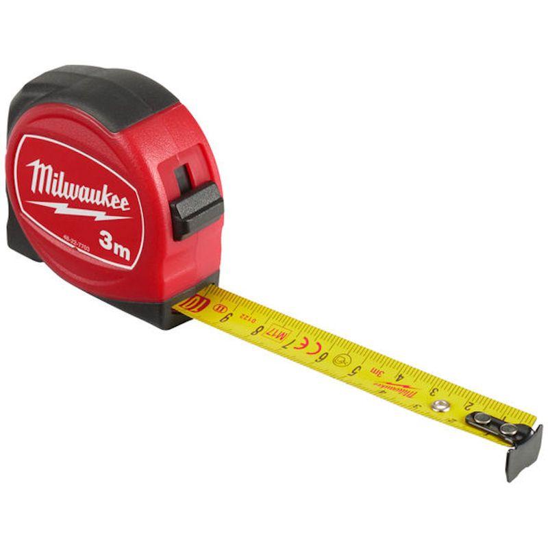 MILWAUKEE SLIMLINE TAPE MEASURE METRIC 3M - 48227703