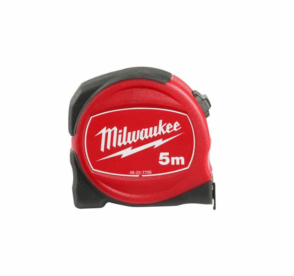 MILWAUKEE SLIMLINE TAPE MEASURE METRIC 5M - 48227706