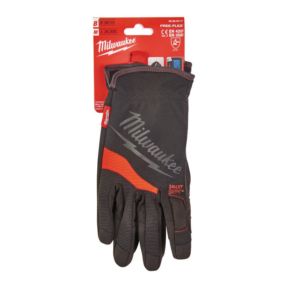 Milwaukee Heavy-Duty Free Flex Work Gloves - 48229711 - 8/M