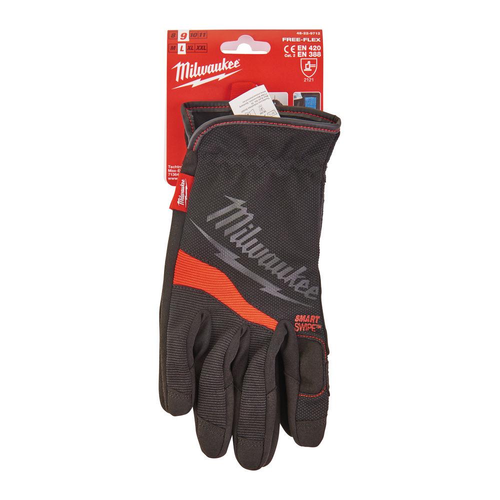 Milwaukee Heavy-Duty Free Flex Work Gloves - 48229712 - 9/L