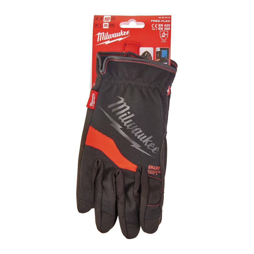 Milwaukee Heavy-Duty Free Flex Work Gloves - 48229713 - 10/XL