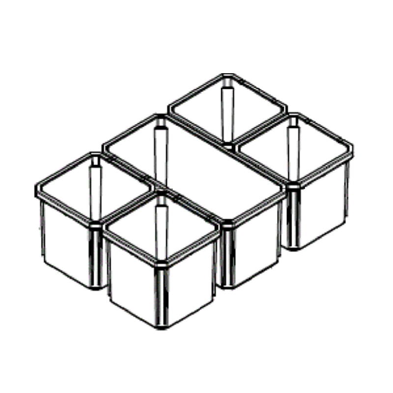 MILWAUKEE PACKOUT - SPARE PART - ORGANISER INSERT BOXES - 4931466513 / 4932478300