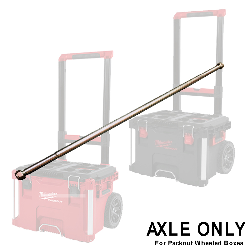 MILWAUKEE PACKOUT - SPARE PART - PACKOUT TROLLEY BOX AXLE ONLY - 4931466534