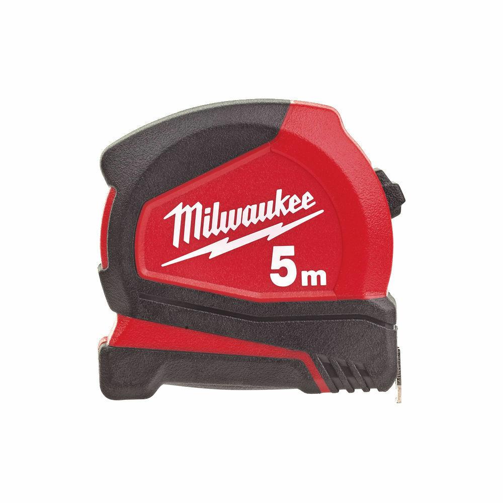 MILWAUKEE PRO COMPACT TAPE MEASURE METRIC 5M - 4932459593