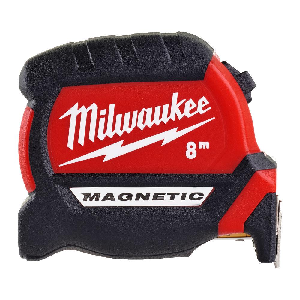Milwaukee Premium Gen 2 Magnetic Tape Metric 8m - 4932464600