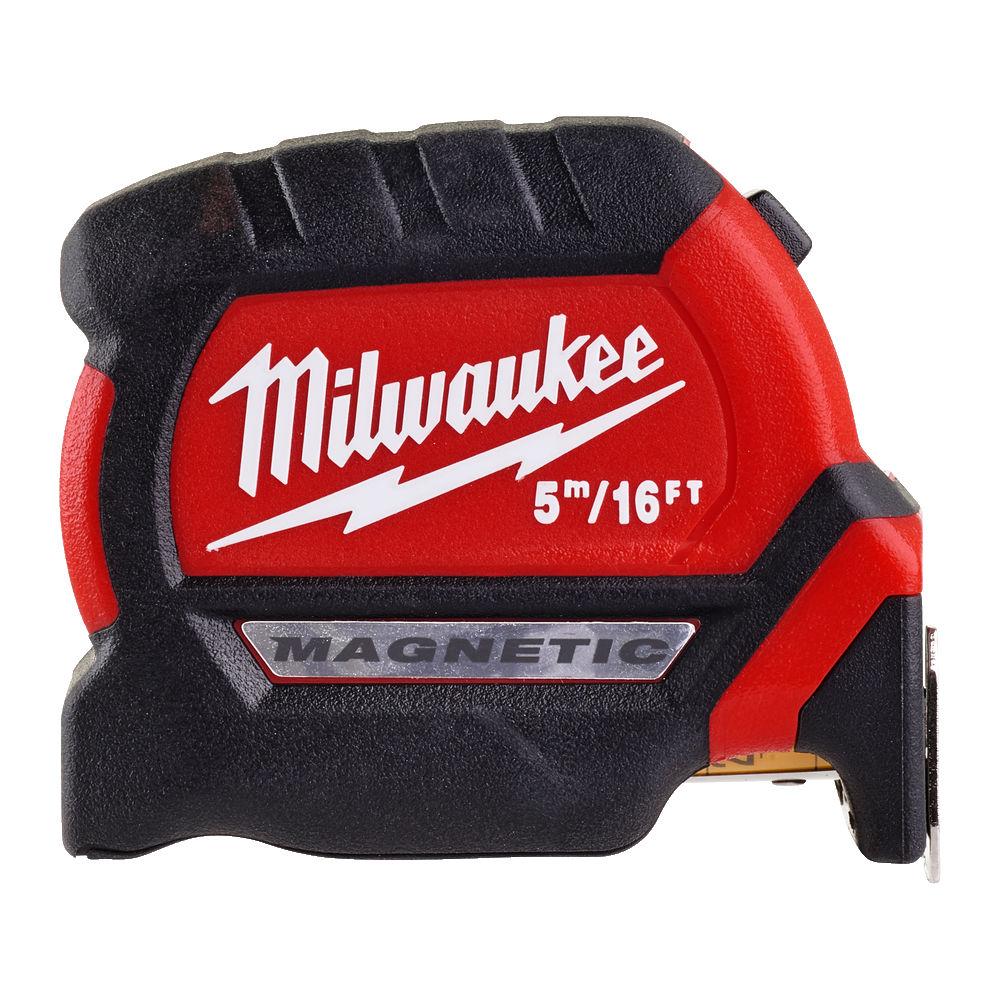 Milwaukee Premium Gen 2 Magnetic Tape Metric/Imperial 5m/16Ft - 4932464602