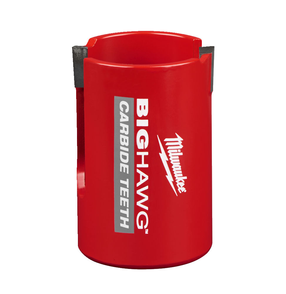 MILWAUKEE MULTI MATERIAL CARBIDE BIG HAWG HOLESAW - 51MM - 4932464925