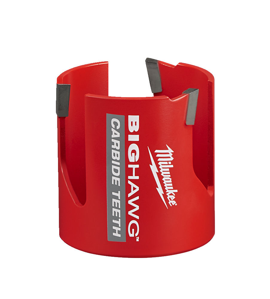 MILWAUKEE MULTI MATERIAL CARBIDE BIG HAWG HOLESAW - 65MM - 4932464928