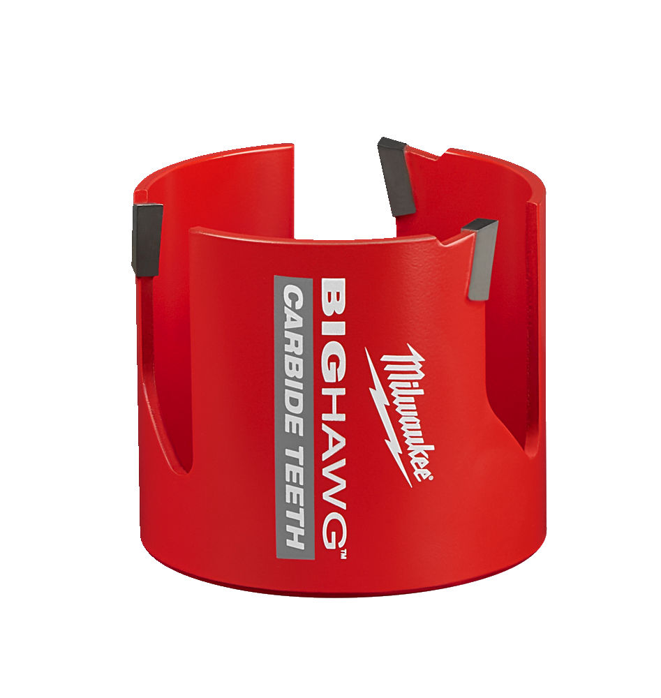 MILWAUKEE MULTI MATERIAL CARBIDE BIG HAWG HOLESAW - 76MM - 4932464931