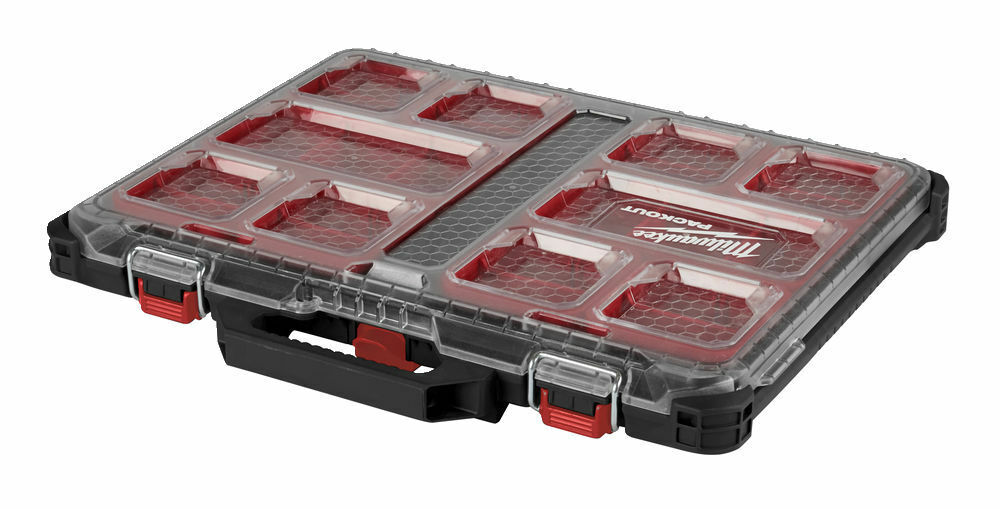 Milwaukee Packout - Packout Slimline Organiser - 4932471064