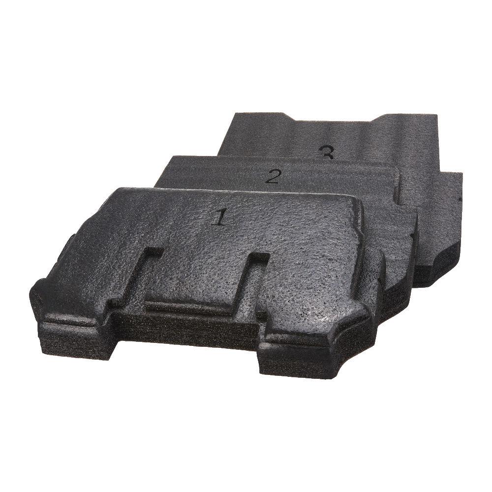 Milwaukee Packout - Packout Trolley 3 Piece Foam Insert - 4932471927