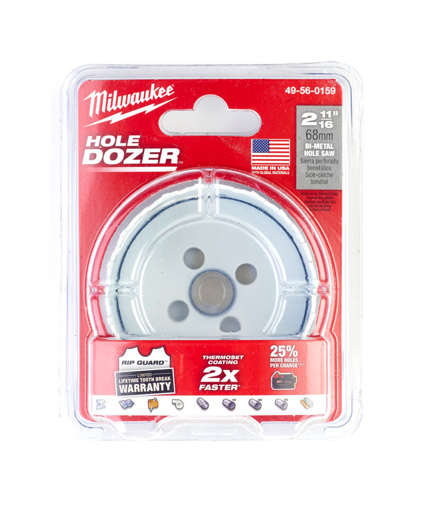 MILWAUKEE HOLESAW 68MM (HOLE DOZER) 49560159