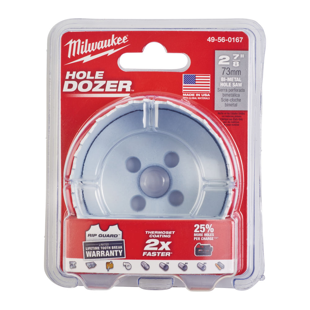 MILWAUKEE HOLESAW 73MM (HOLE DOZER) 49560167