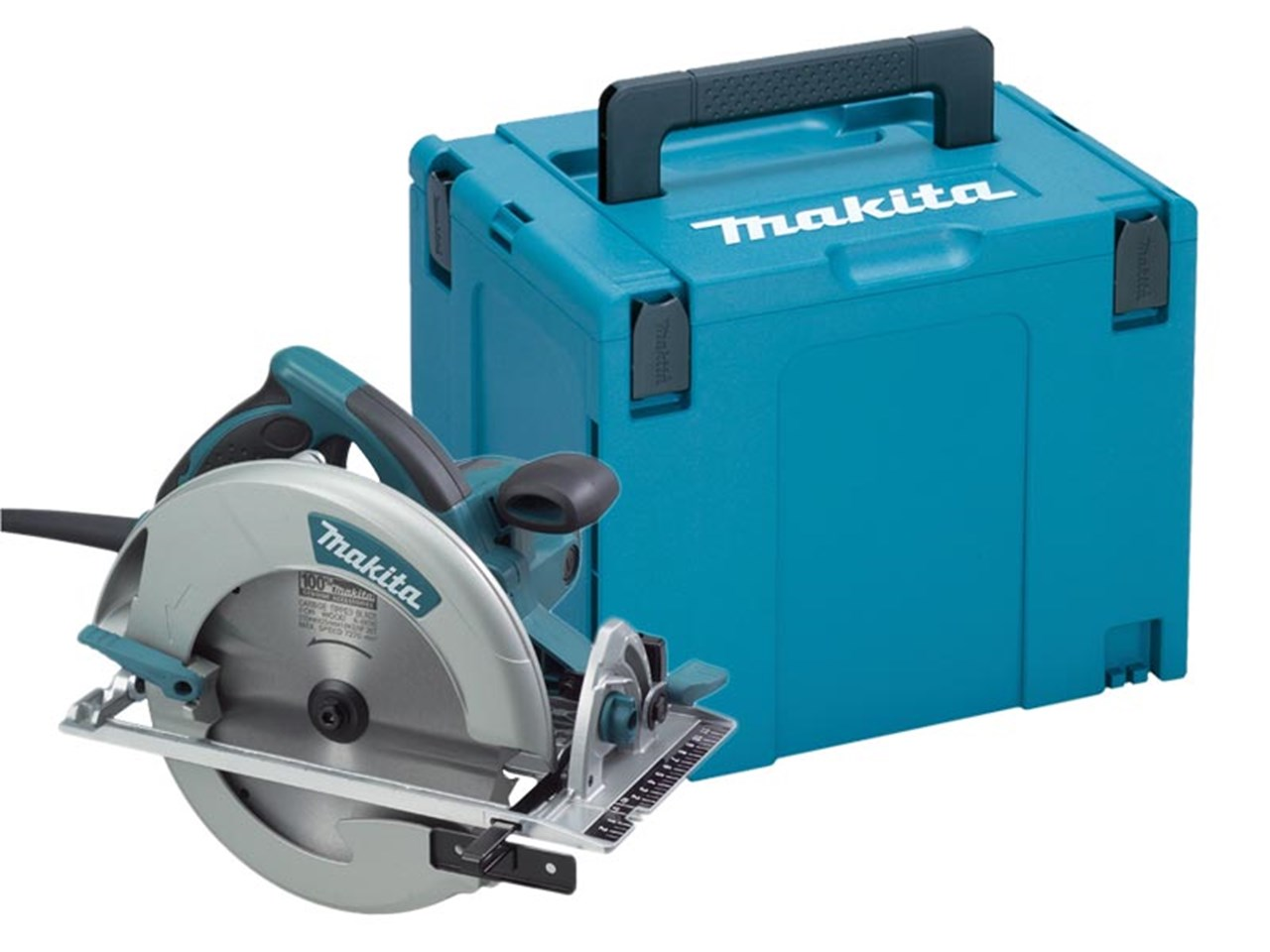 "Makita 5008MGJ 240V 210mm Circular Saw - Cutting Depth of 75.5mm (3"")"