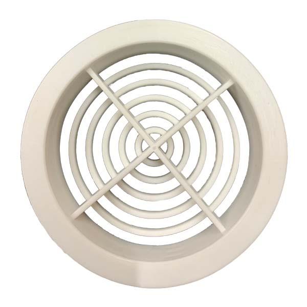 Deeplas Circular Soffit Vent 70mm Deeplas White - P91-0003