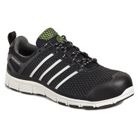 APACHE MOTION BLACK SAFETY TRAINER SIZE 9