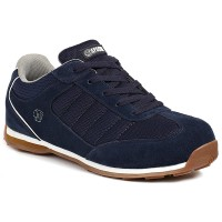 APACHE STRIKE NAVY SAFETY TRAINERS SIZE 8