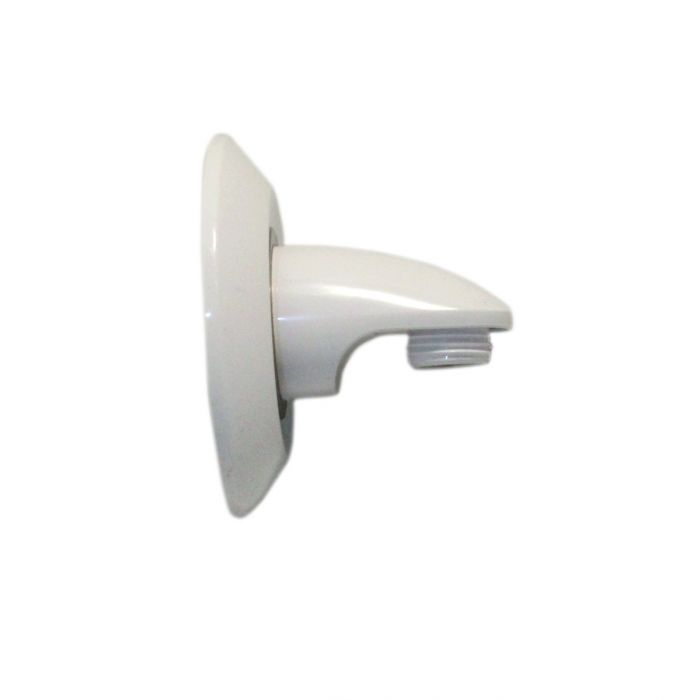 AQUALISA SHOWER HEAD WALL OUTLET AND COVER PLATE WHITE 215015