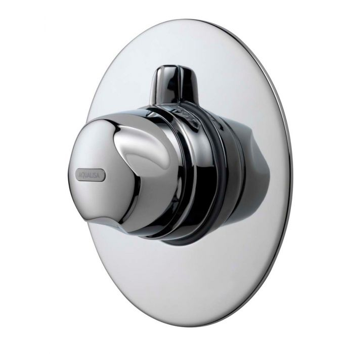 AQUALISA AQUAVALVE 700 THERMO CONCEALED MIXER SHOWER - CHROME