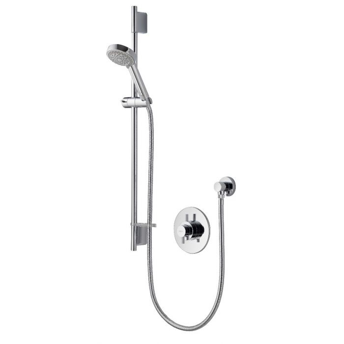 AQUALISA ASPIRE DL CONCEALED MIXER SHOWER WITH ADJUSTABLE HEAD