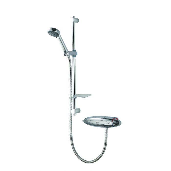 AQUALISA COLT CONCEALED MIXER SHOWER WITH ADJUSTABLE HEAD