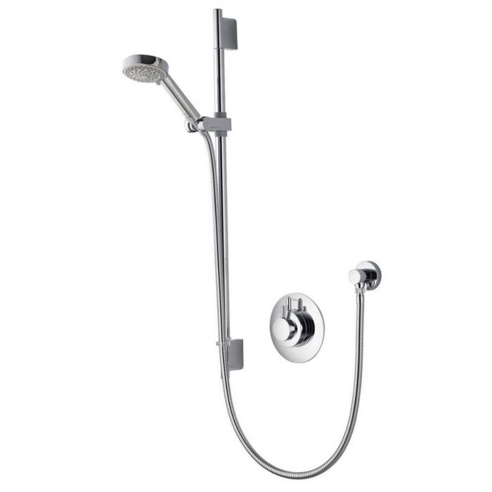 AQUALISA DREAM CONCEALED MIXER SHOWER WITH ADJUSTABLE HEAD