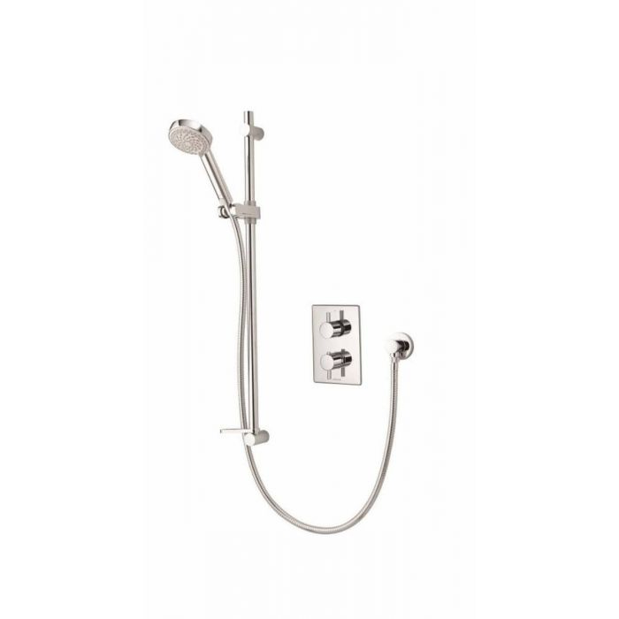 AQUALISA DREAM DCV MIXER SHOWER WITH ADJUSTABLE HEAD CONCEALED - HP/COMBI