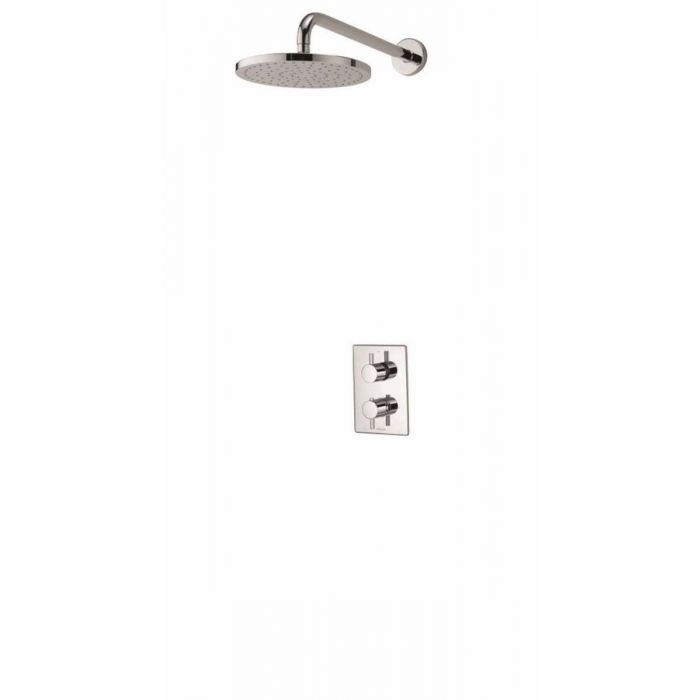 AQUALISA DREAM DCV MIXER SHOWER WITH WALL FIXED DRENCHER HEAD - HP/COMBI