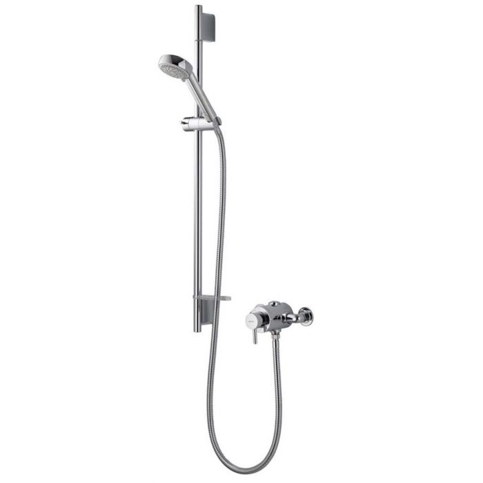 AQUALISA SIREN SL EXPOSED THERMOSTATIC MIXER SHOWER WITH ADJUSTABLE HEAD