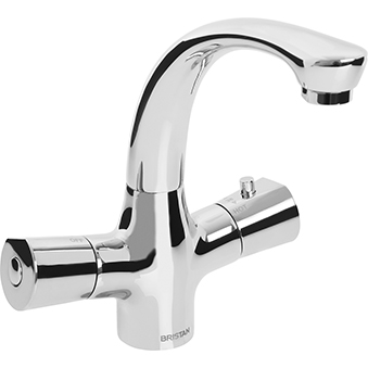 BRISTAN ARTISAN THERMOSTATIC TMV2 BASIN MIXER (WITHOUT WASTE)