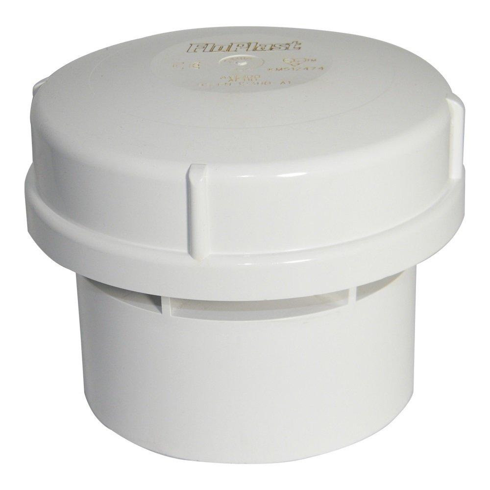 """Floplast AV110WH Air Admittance Valve 110mm/4"""" Solvent Socket - White"""