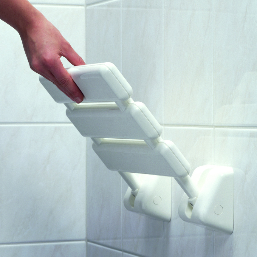Lakes Animo RD Wall Mounted Shower Seat (100kg) White