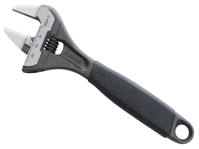 BAHCO 9029T ERGO SLIM JAW ADJUSTABLE WRENCH 150MM (6IN)