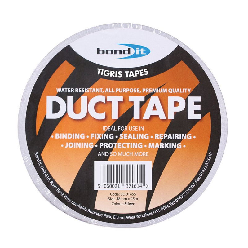 BOND IT DUCT TAPE 48MM X 45M - SILVER BDDT45S