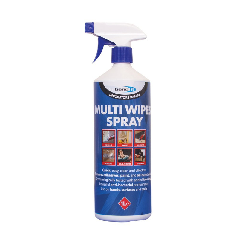 BOND IT MULTI-WIPE SPRAY 1 Ltr BDHWS1 - MULTI-PURPOSE CLEANING SPRAY