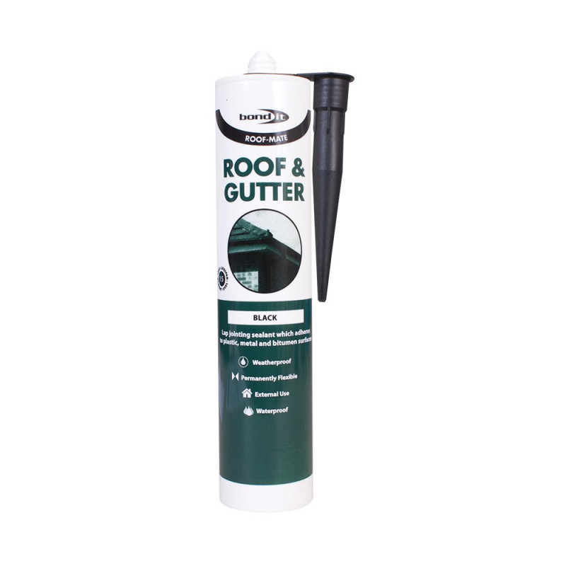 Bond-It Roof-Mate Roof & Gutter Lap Jointing Sealant EU3 - Black