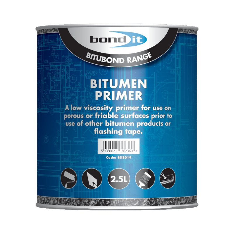 BOND IT BITUMEN PRIMER 2.5L BDB019
