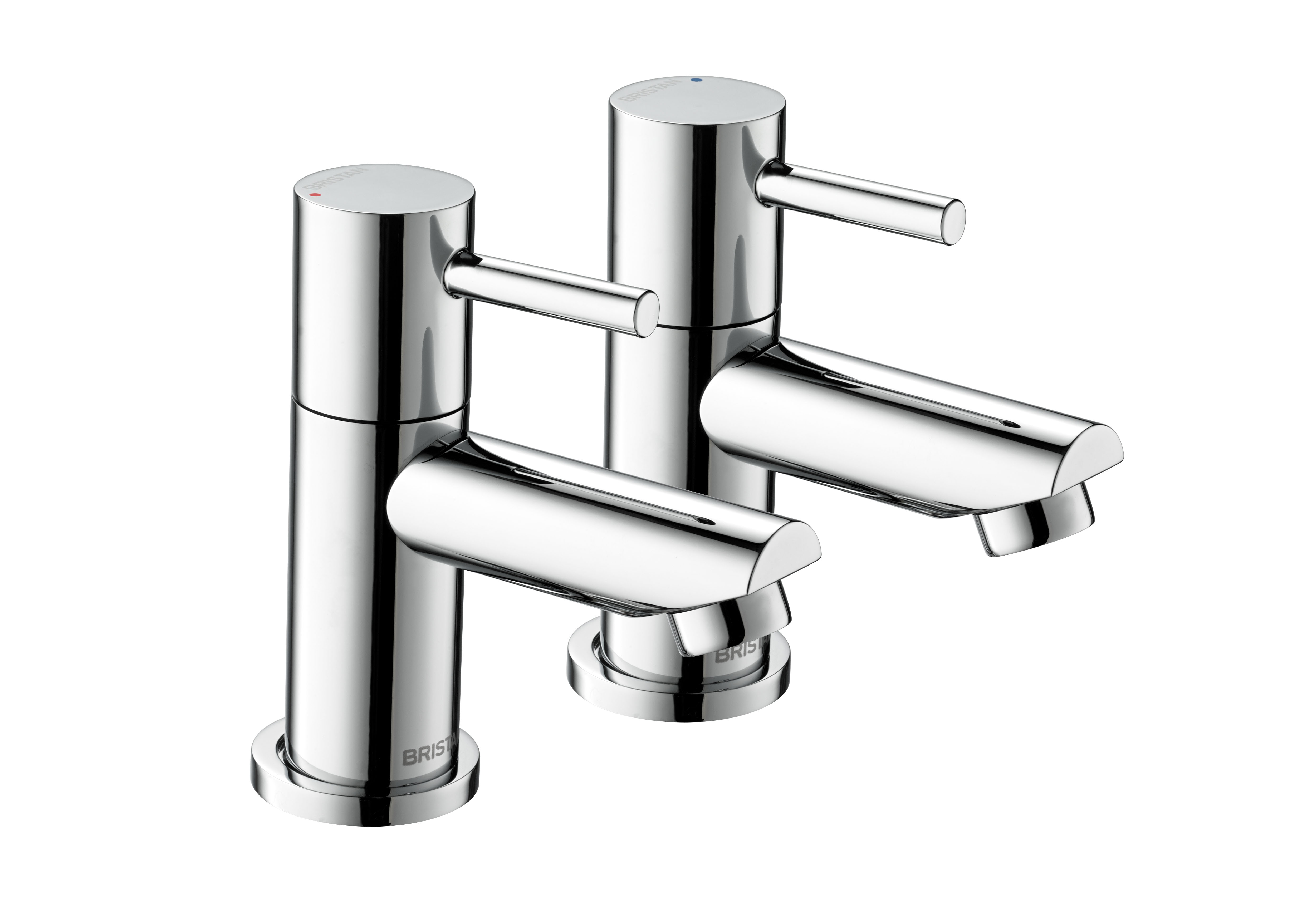 BRISTAN BLITZ BASIN TAPS (PAIR) CHROME