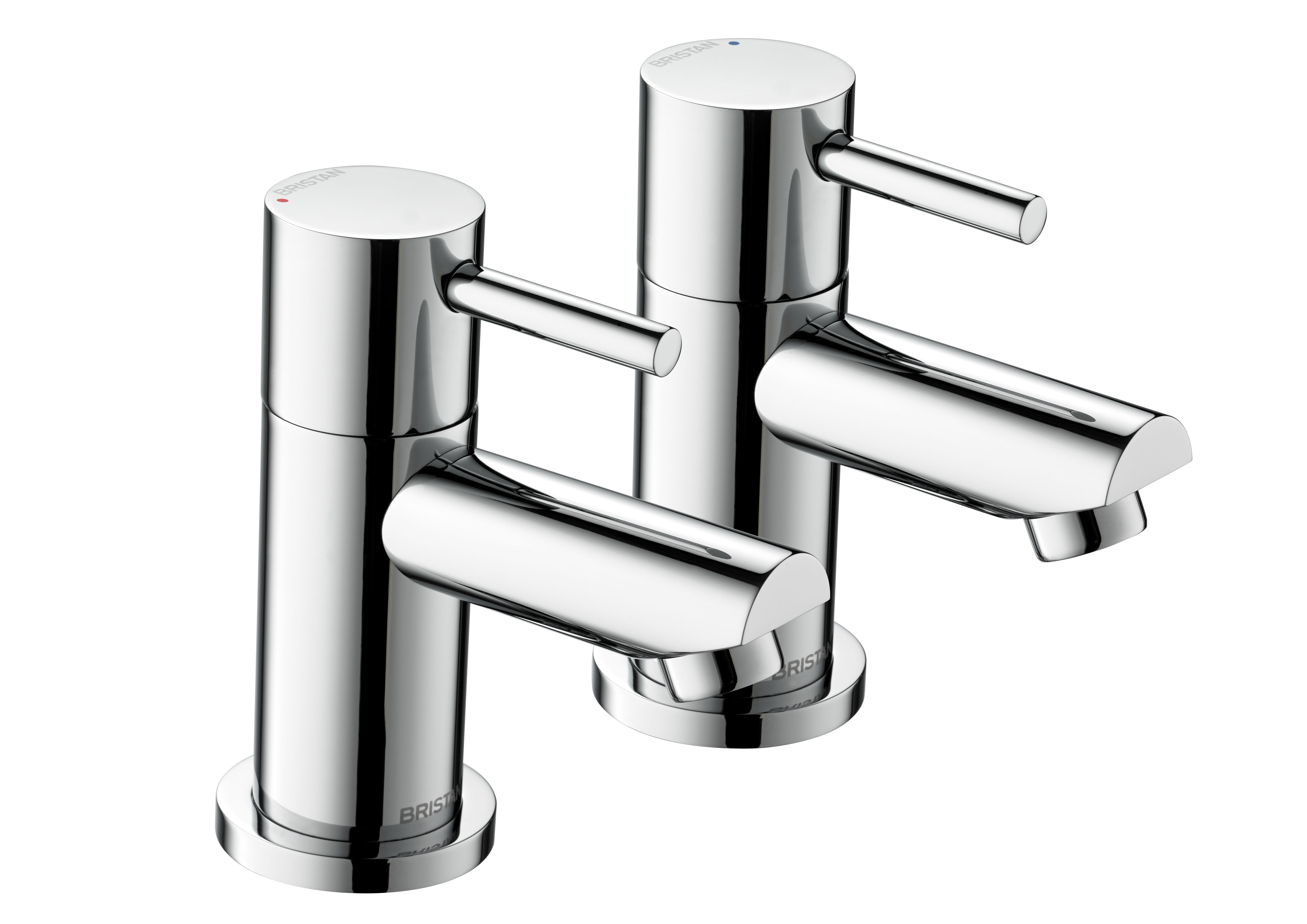 BRISTAN BLITZ BATH TAPS (PAIR) CHROME