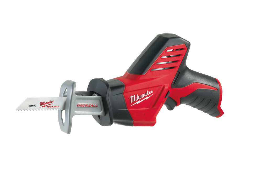 MILWAUKEE 12V COMPACT BRUSHED HACKZALL - C12HZ - BODY ONLY